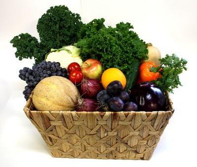 Organic Fruit & Vegetable Basket (Large)