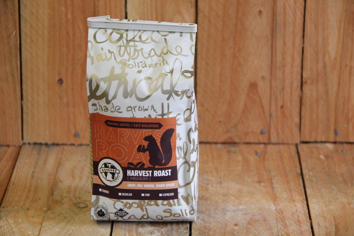 Equator – Organic Coffee – Harvest Roast MEDIUM (340g Bag)