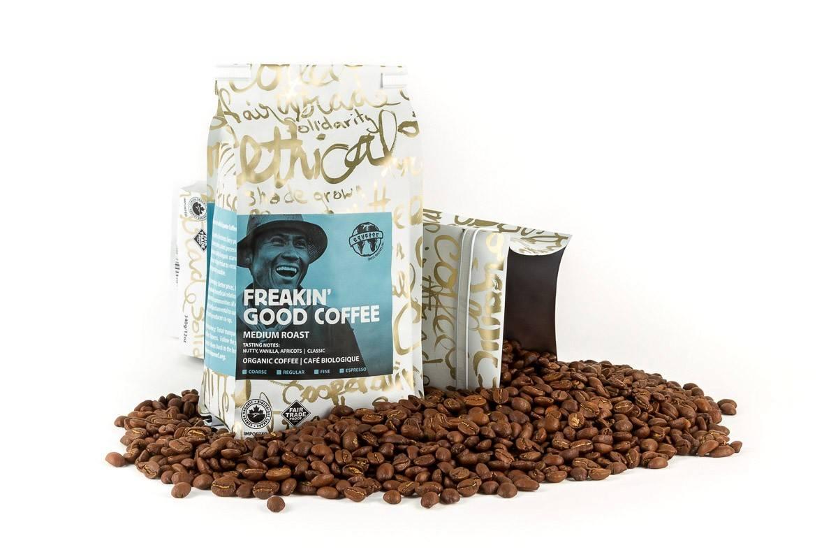 Equator – Organic Coffee – Freakin' Good Blend MEDIUM (340g Bag)