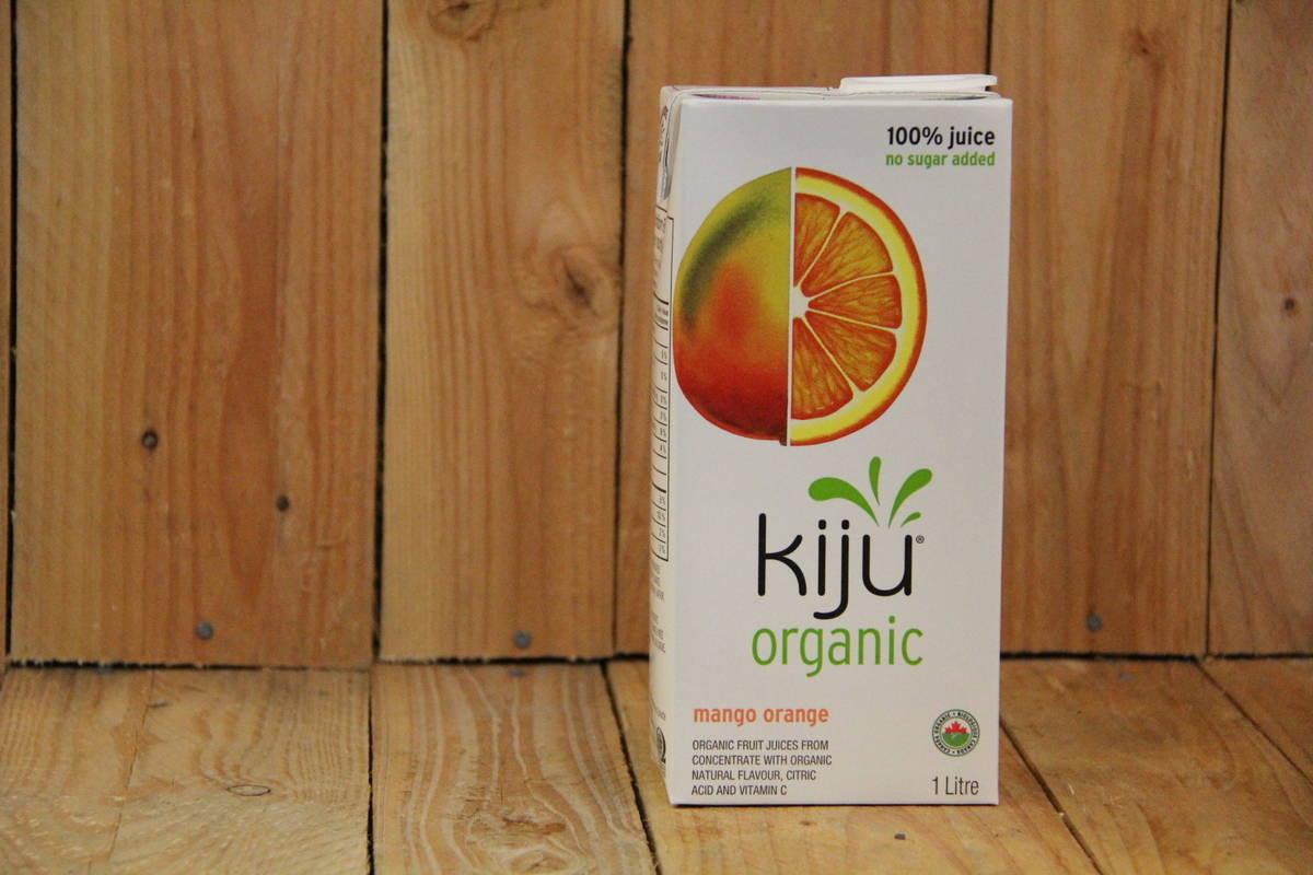 Kiju – Organic Mango Orange Juice (1L Carton)