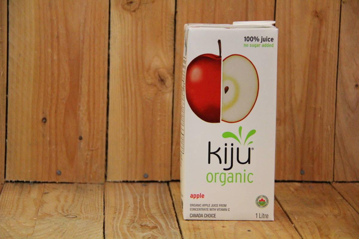 Kiju – Organic Apple Juice (1L Carton)