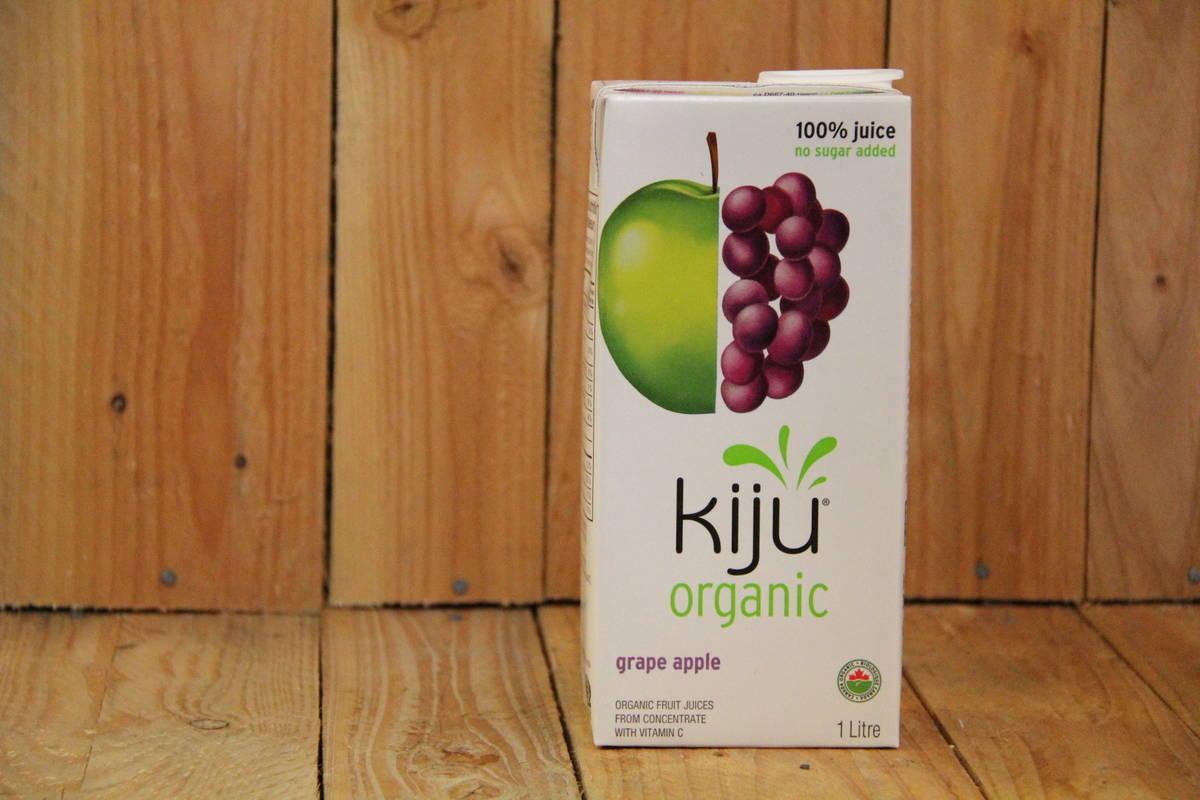 Kiju – Organic Grape Apple Juice (1L Carton)