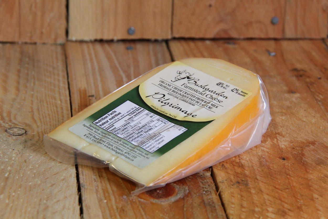Bushgarden – Pilgrimage 48% M.F. Raw Milk Cheese LOCAL (per approx. 190g)