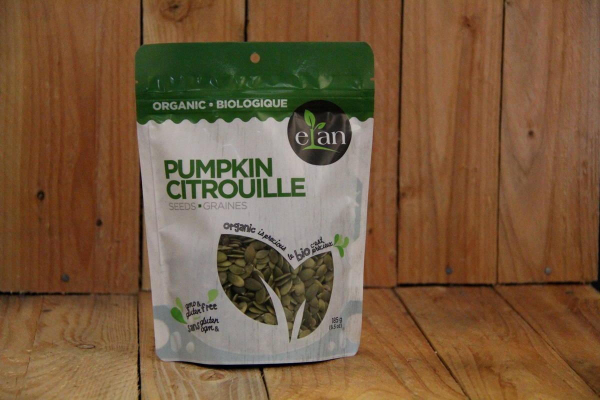 Elan – Organic Pumpkin Seeds (185g)