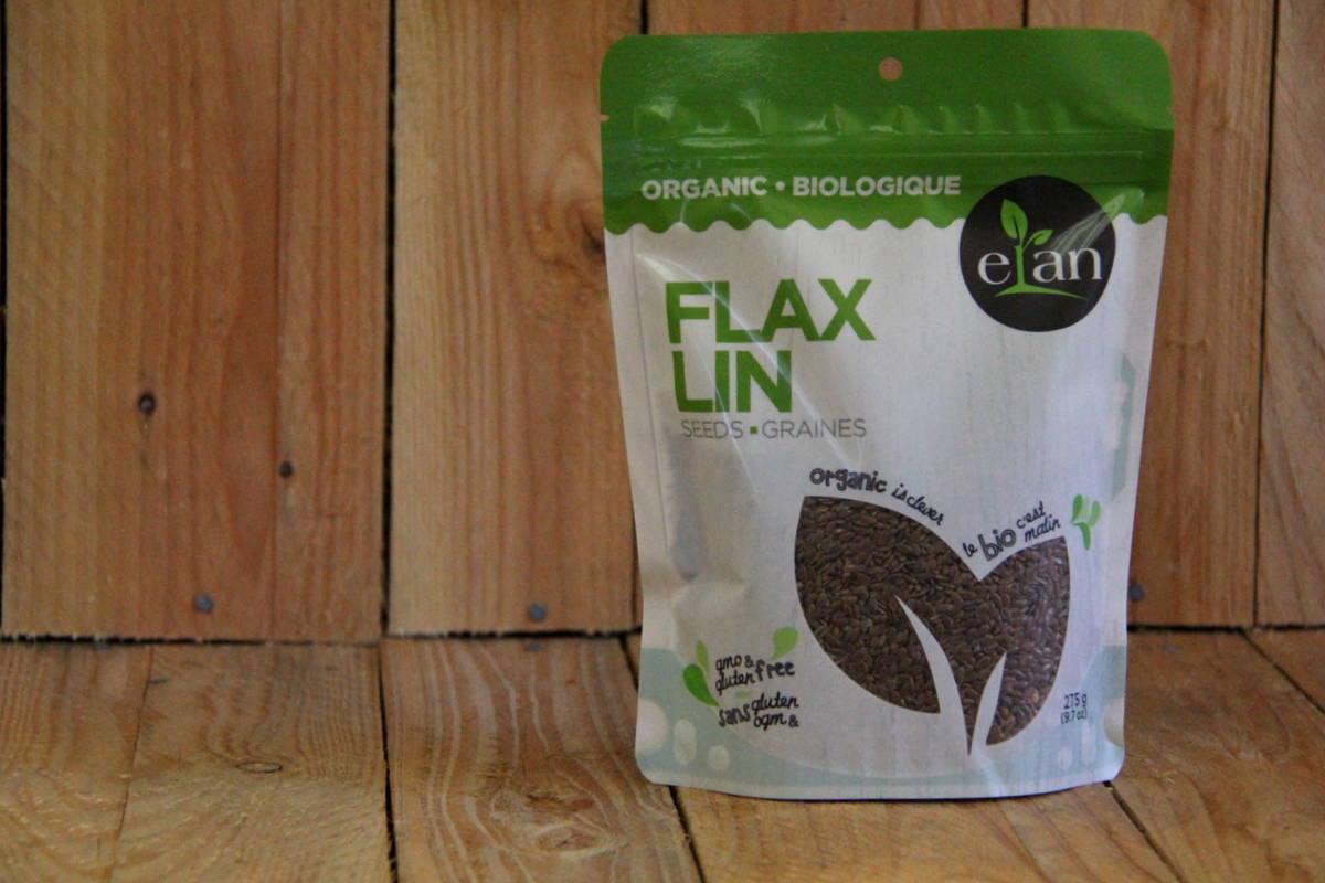 Elan – Organic Flax Seeds Whole (275g)