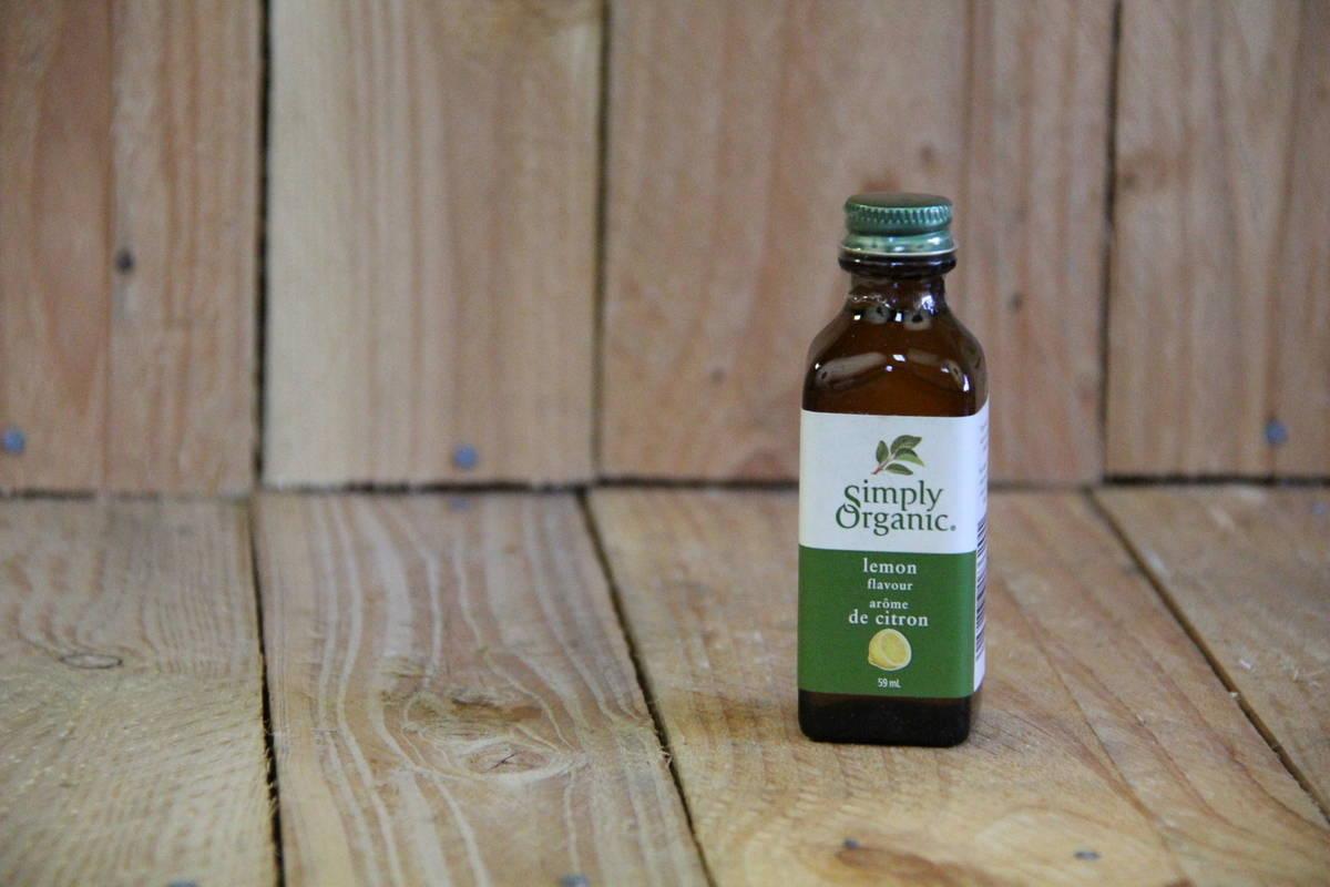 Simply Organic – Organic Extract – Lemon (59ml/2oz Bottle)
