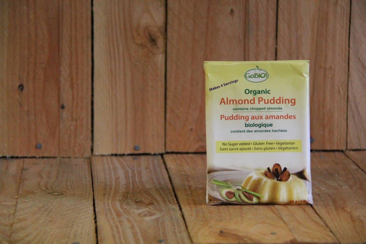 GoBio! Organic Almond Pudding – Gluten Free (50g)