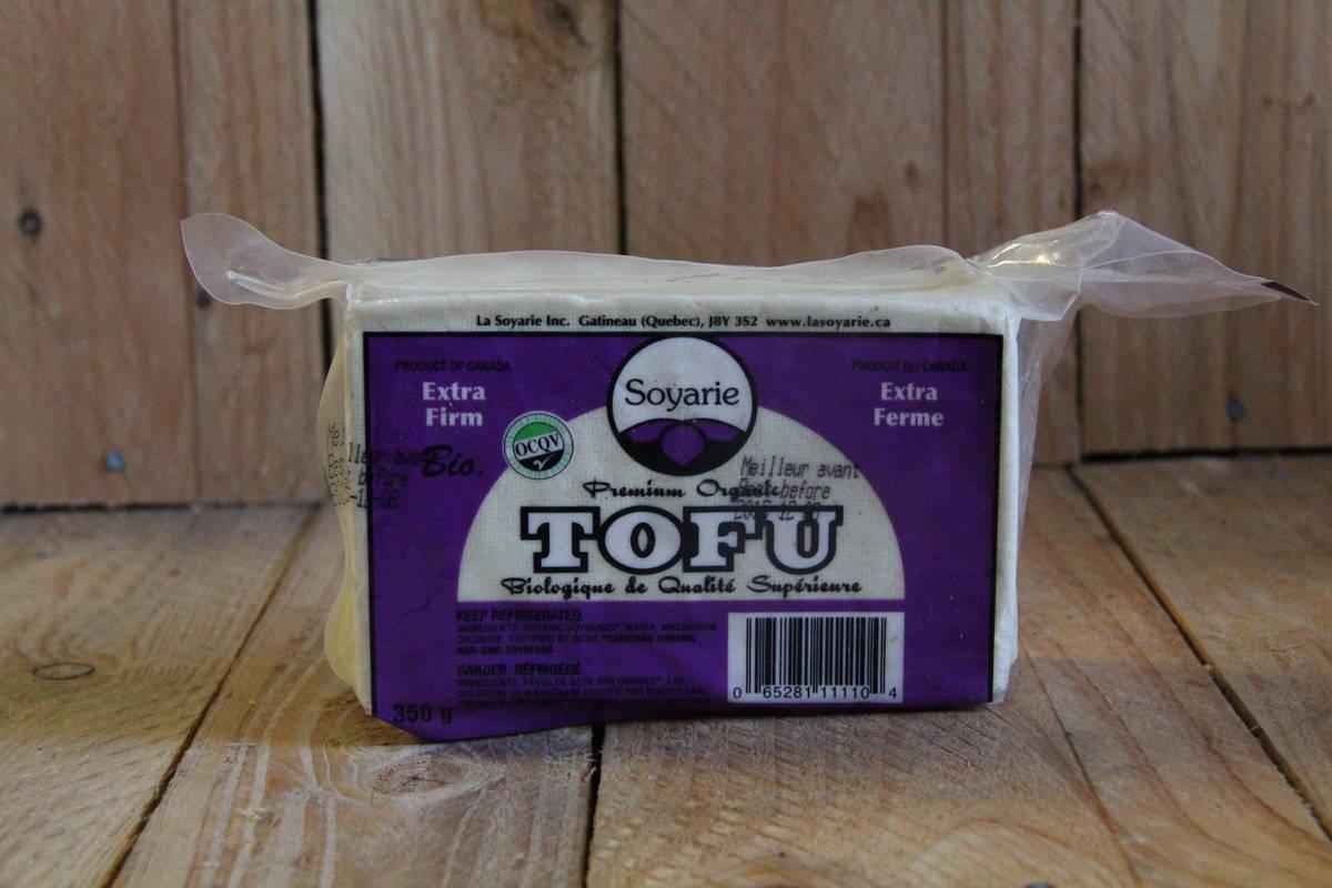 La Soyarie – Tofu – Organic Extra Firm LOCAL (350g)