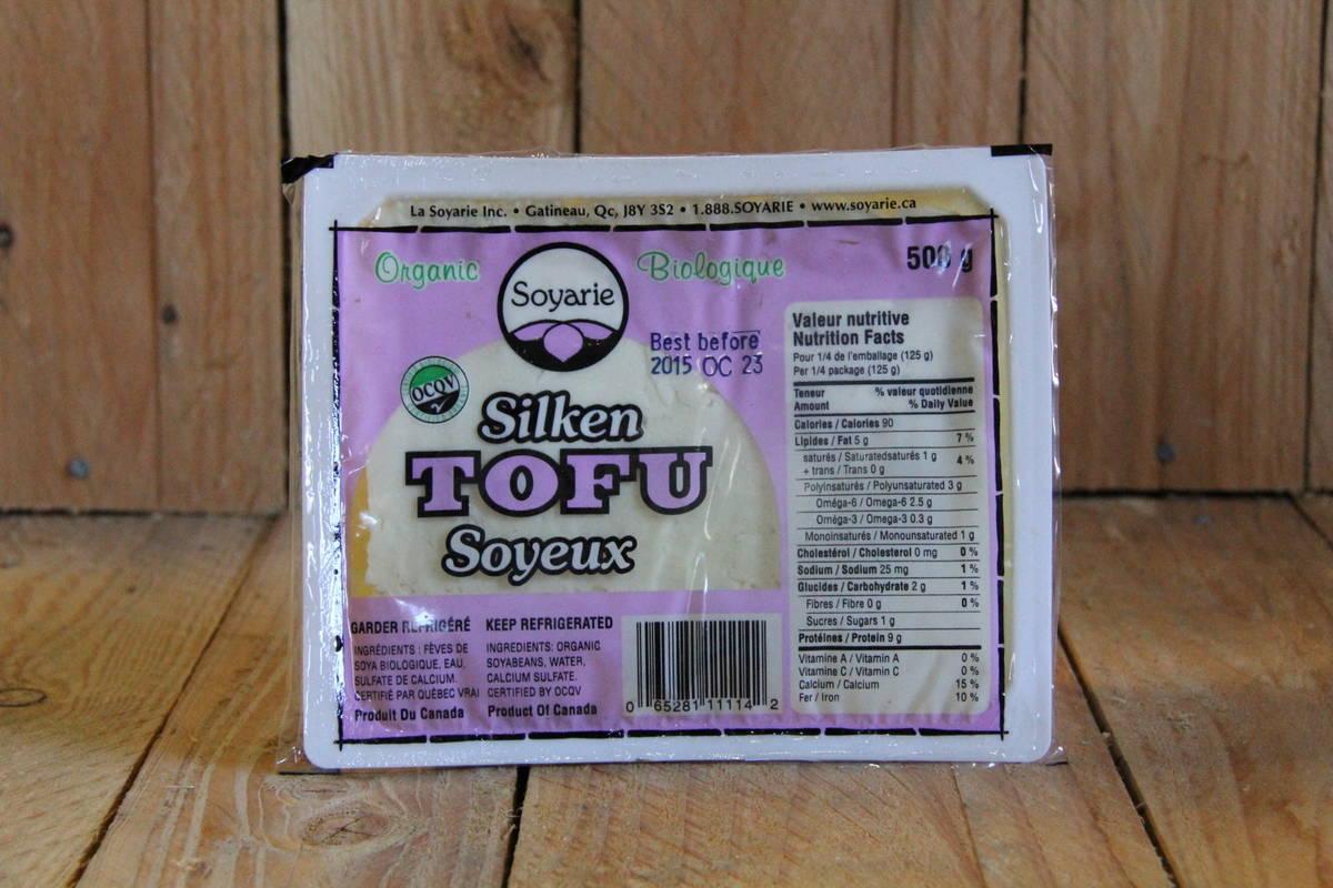 La Soyarie – Tofu – Organic Silken LOCAL (500g)