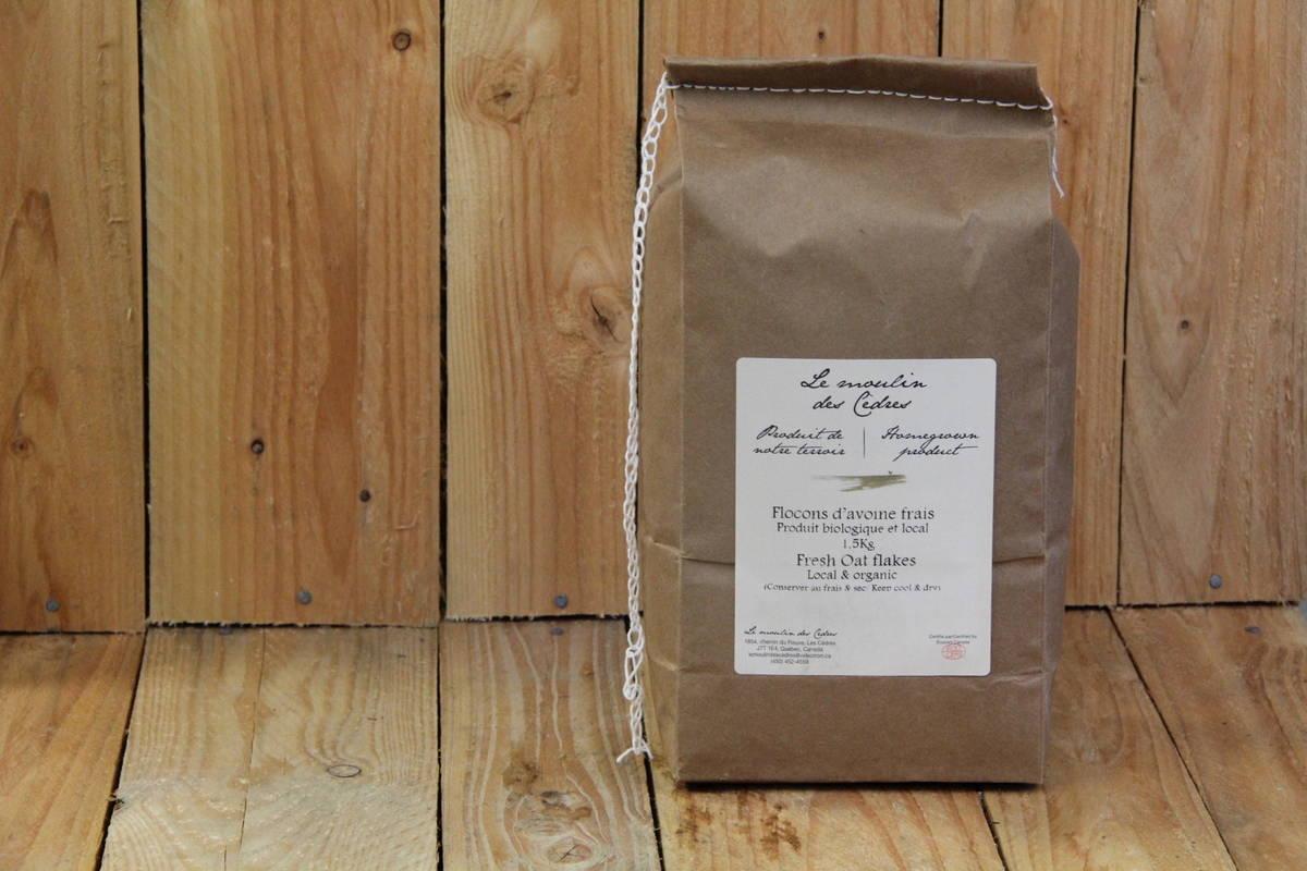 Le Moulin des Cedres – Oats – Quick Rolled LOCAL (1.5kg)