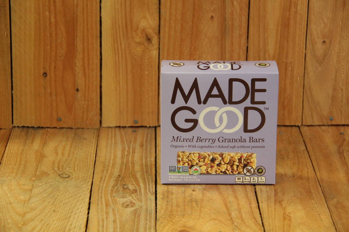 Made Good – Granola Bars – Mixed Berries (5x24g)