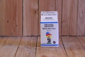 Organic Meadow – 10% Half & Half Cream (1L Carton)