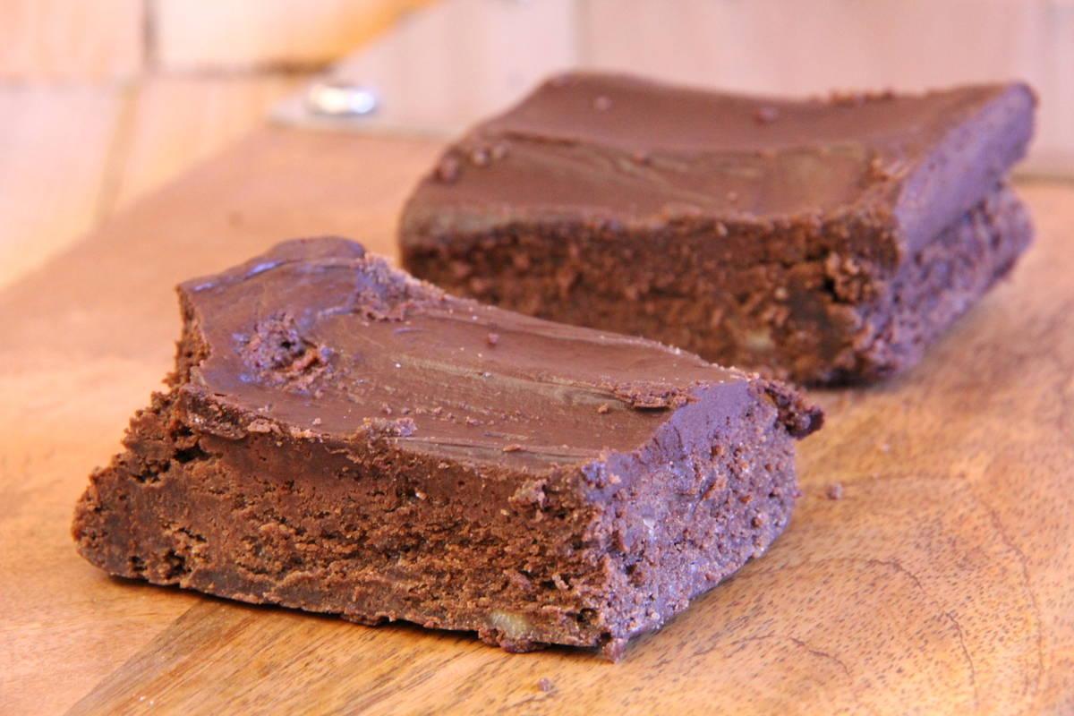 Wild Oat Bakery – Double Chocolate Brownies (Pkg/2)
