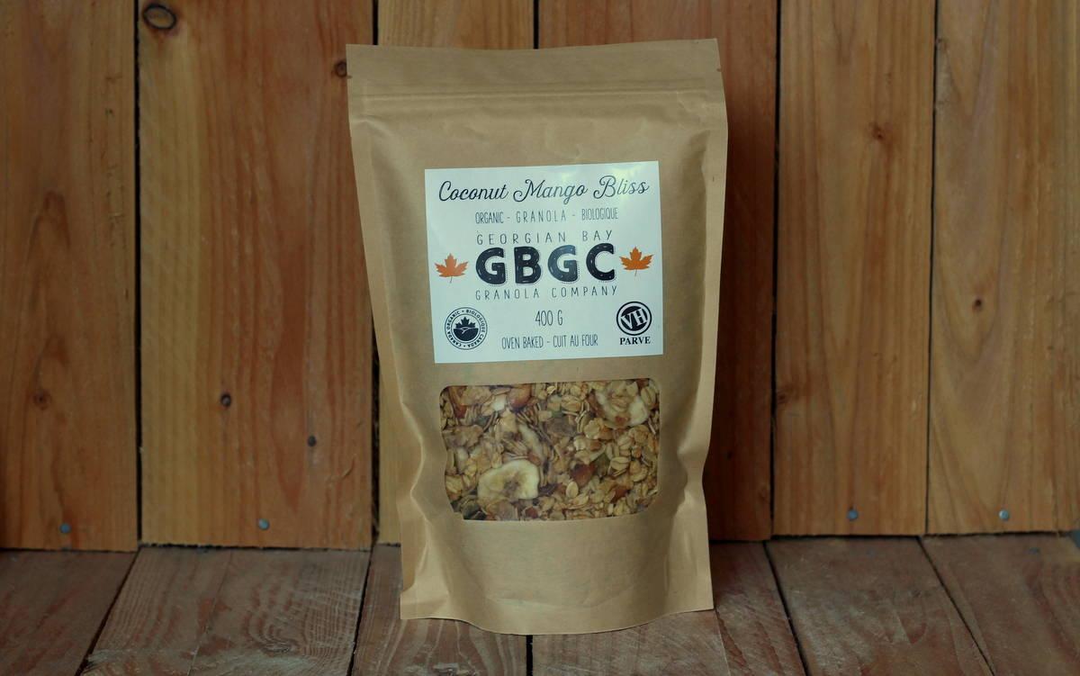 Georgian Bay Granola Co. – Coconut Mango Bliss (400g)