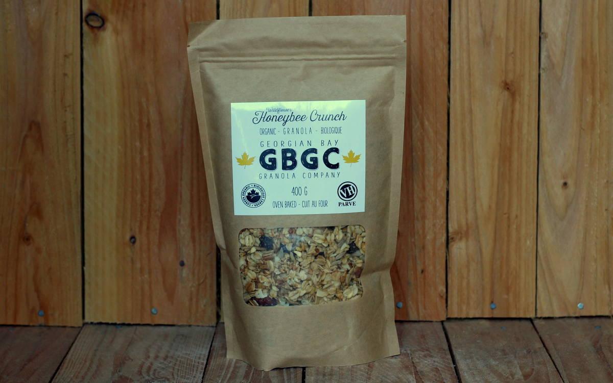 Georgian Bay Granola Co. – Wildflower Honey Bee Crunch Gluten-Free (400g)