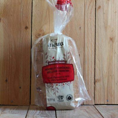 Inewa Bakery – Cranberry Apple Bread