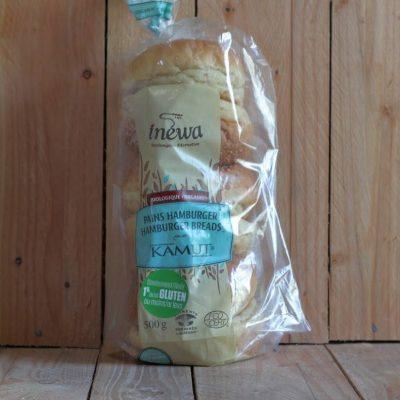 Inewa Bakery – Kamut Hamburger Buns