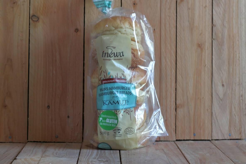 Inewa Bakery – Kamut Hamburger Buns (Pkg/6)
