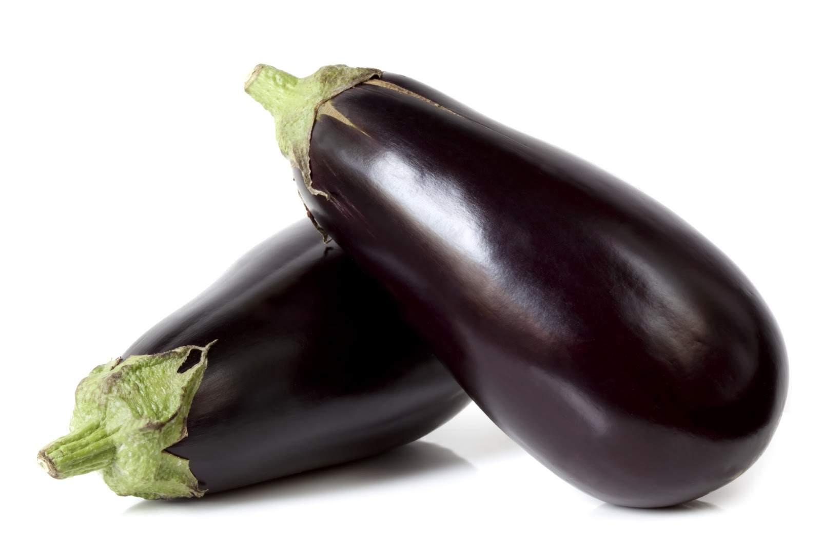 Eggplant – Black Globe LOCAL Serres de l'Outaouais (Each/Approx 1LB)