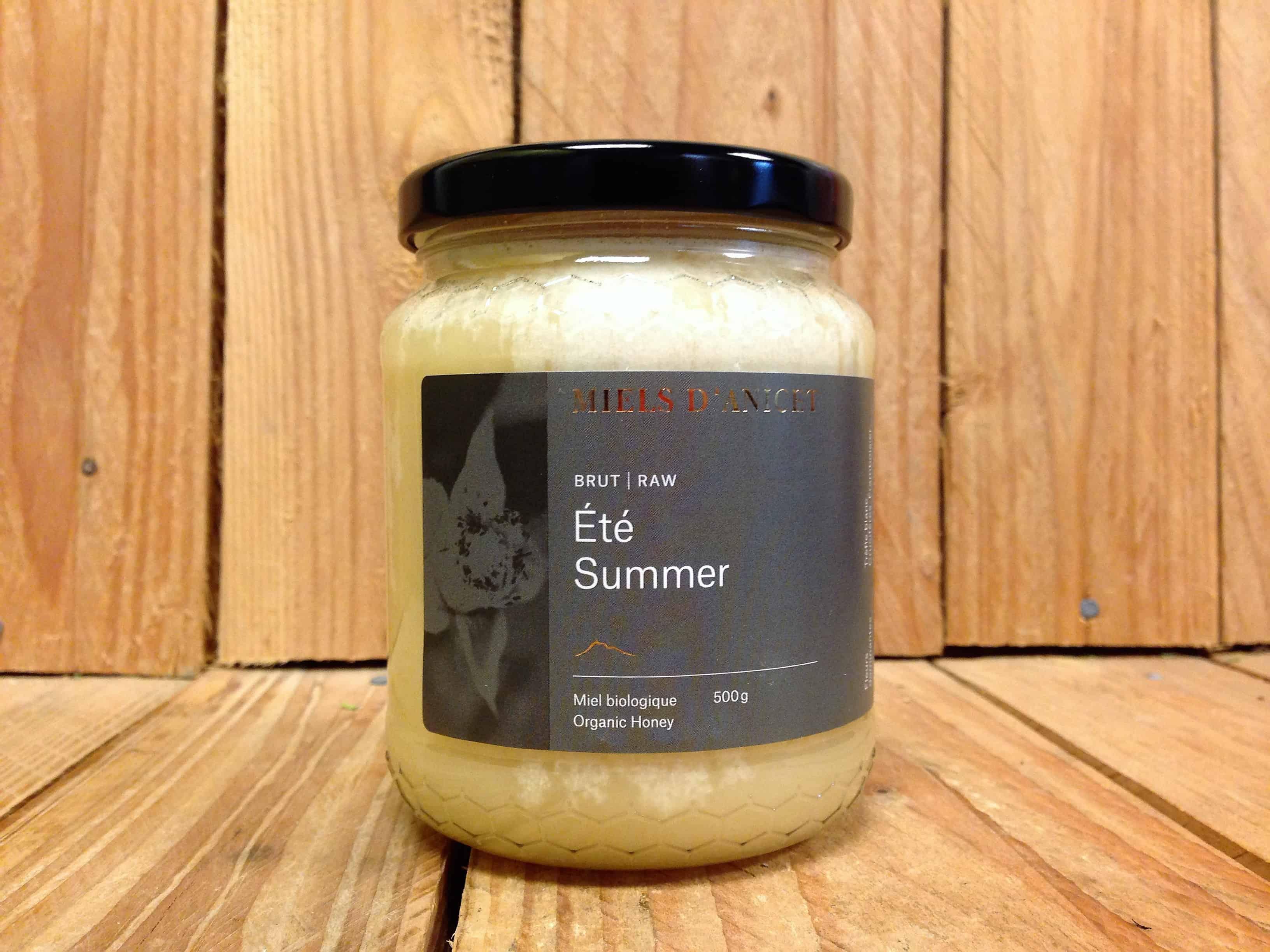 Miels d'Anicet – Honey – Raw Summer (500g Jar)