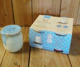 Riviera - Goat Yogurt Mini Pots Vanilla