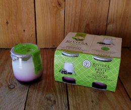 Riviera Blackcurrant Yogurt