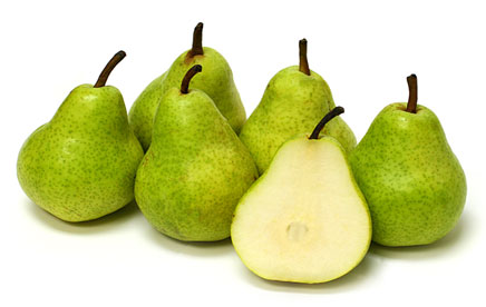 Pears – Bartlett Green, New Crop OREGON (Bag of 5)