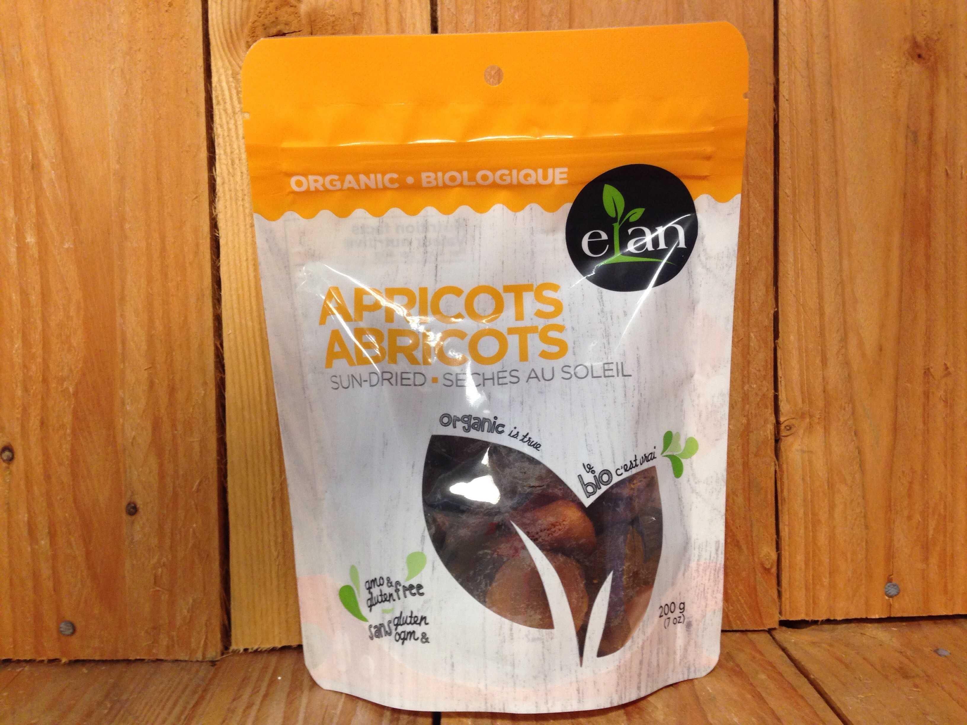 Elan – Organic Sun-Dried Apricots (200g)