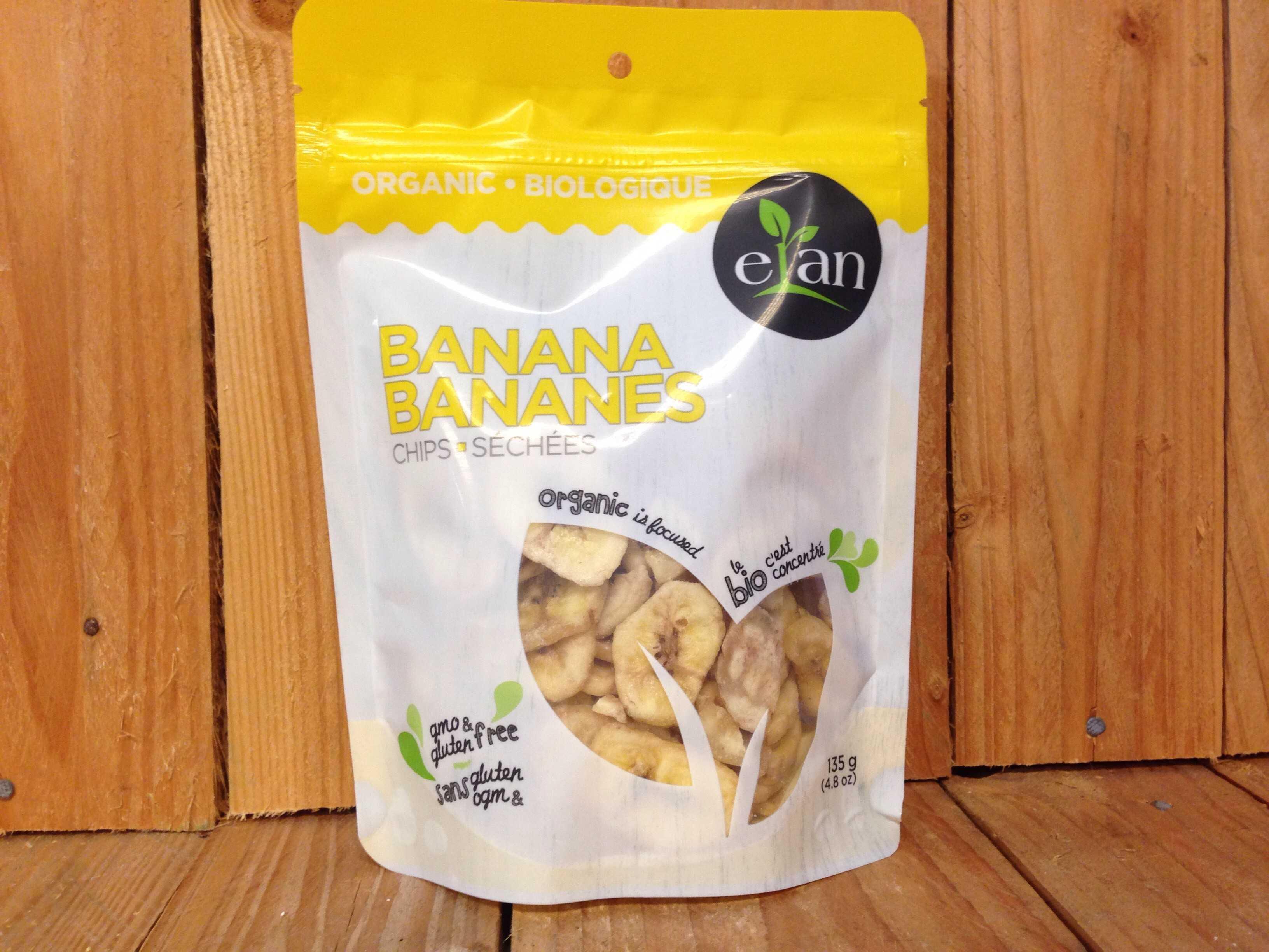 Elan – Organic Banana Chips (135g)