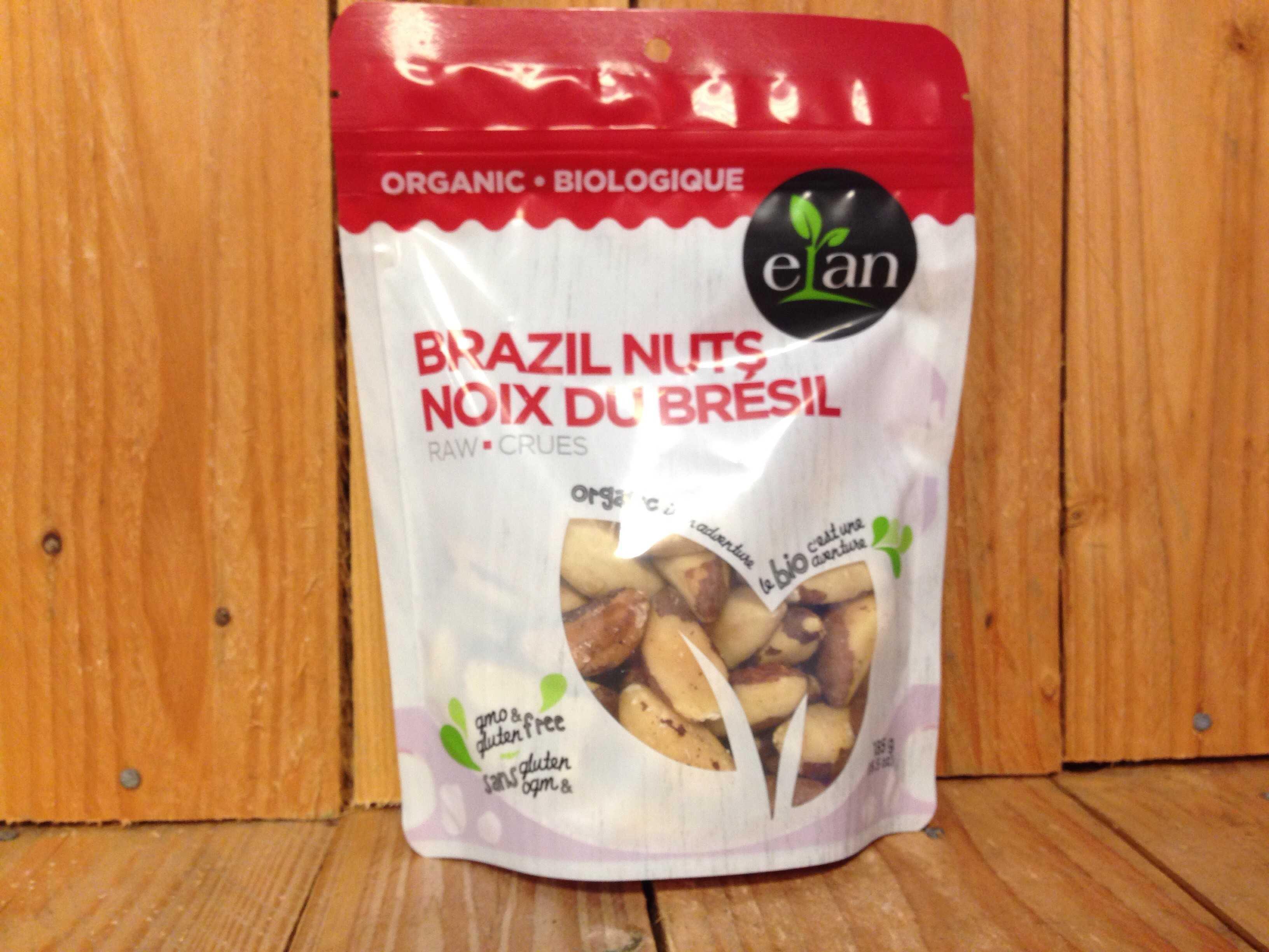 Elan – Organic Brazil Nuts, Raw (185g)