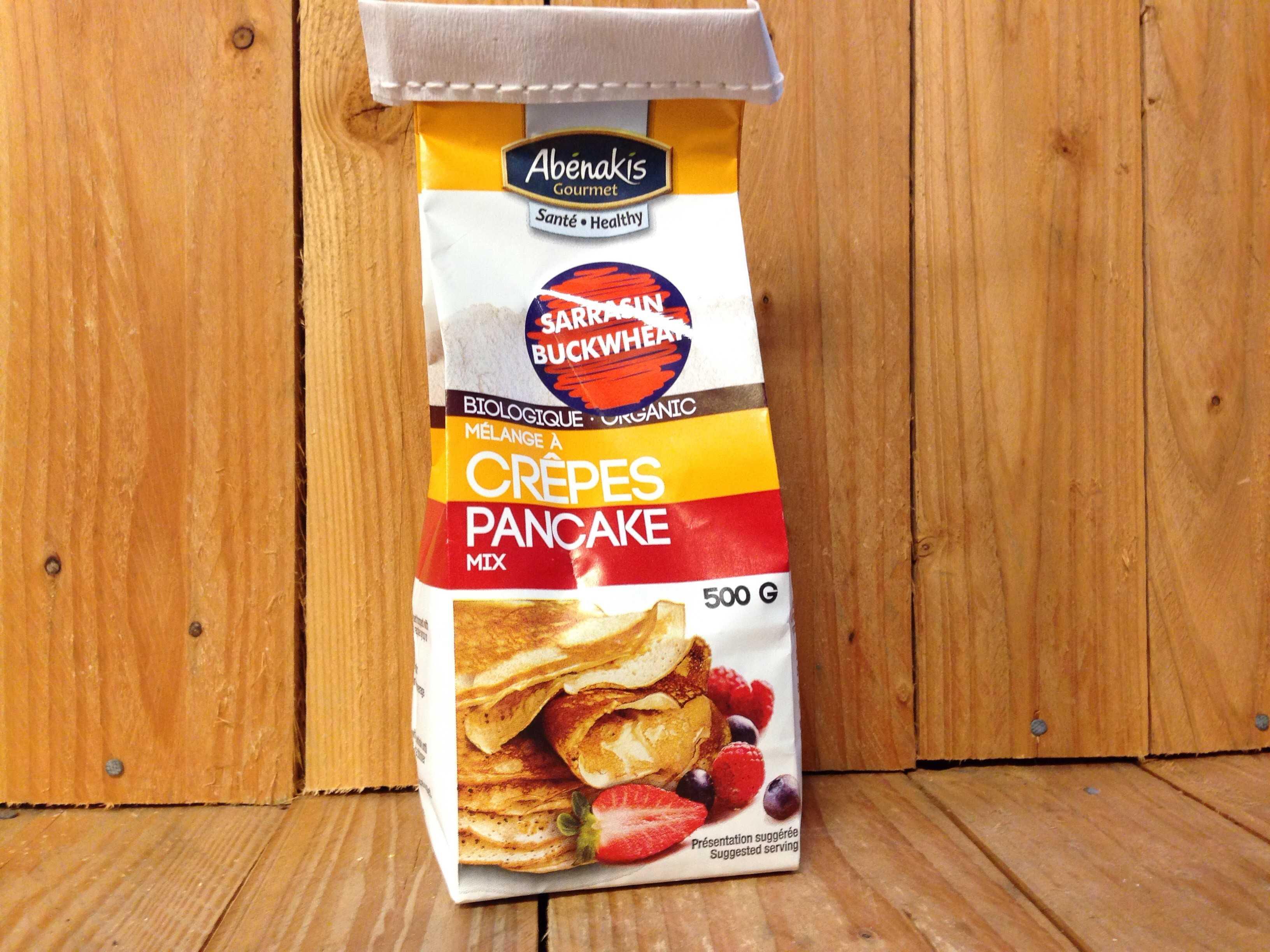 Abénakis – Buckwheat Pancake Mix (500g)