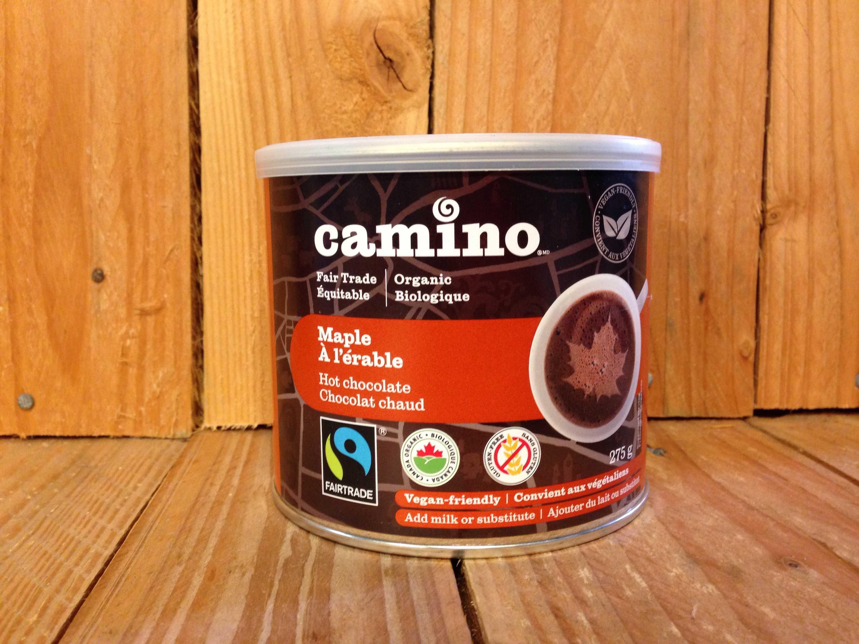 Cocoa Camino – Maple Hot Chocolate Powder (275g Tin)