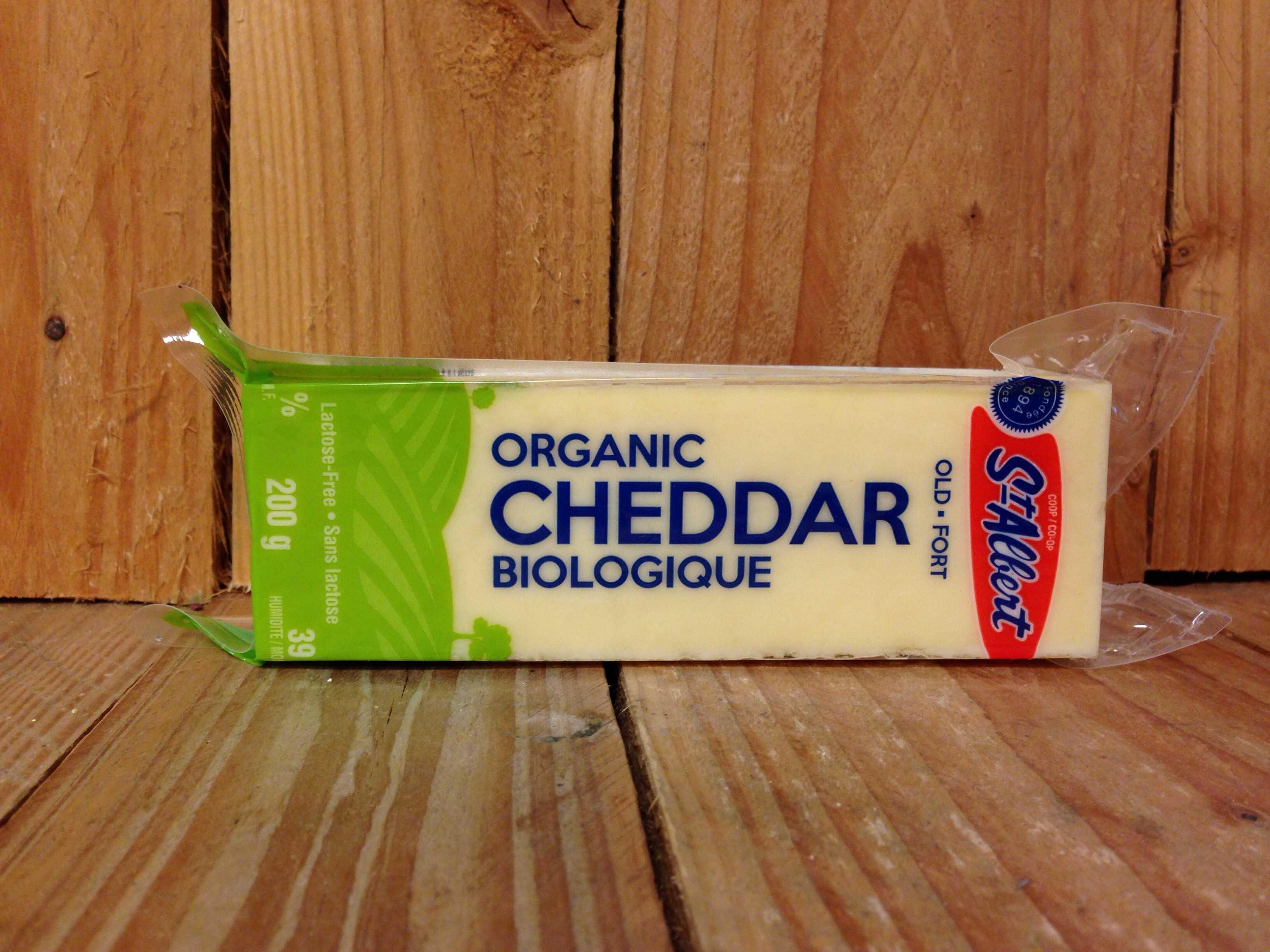 St-Albert – Organic Cheese – Cheddar Old (200g)