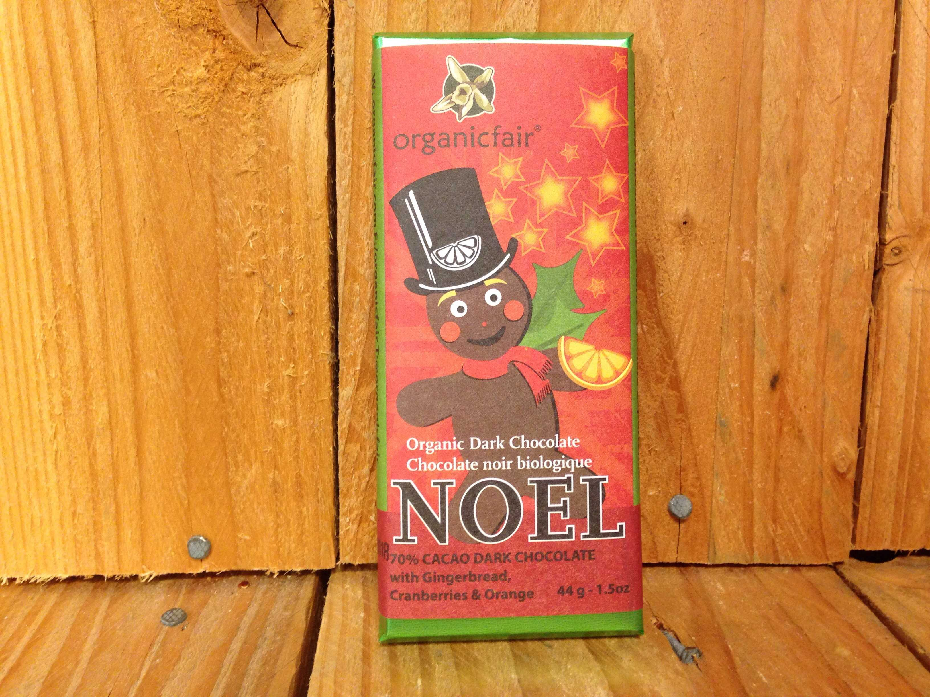 Organic Fair – Chocolate – Noel (43g)