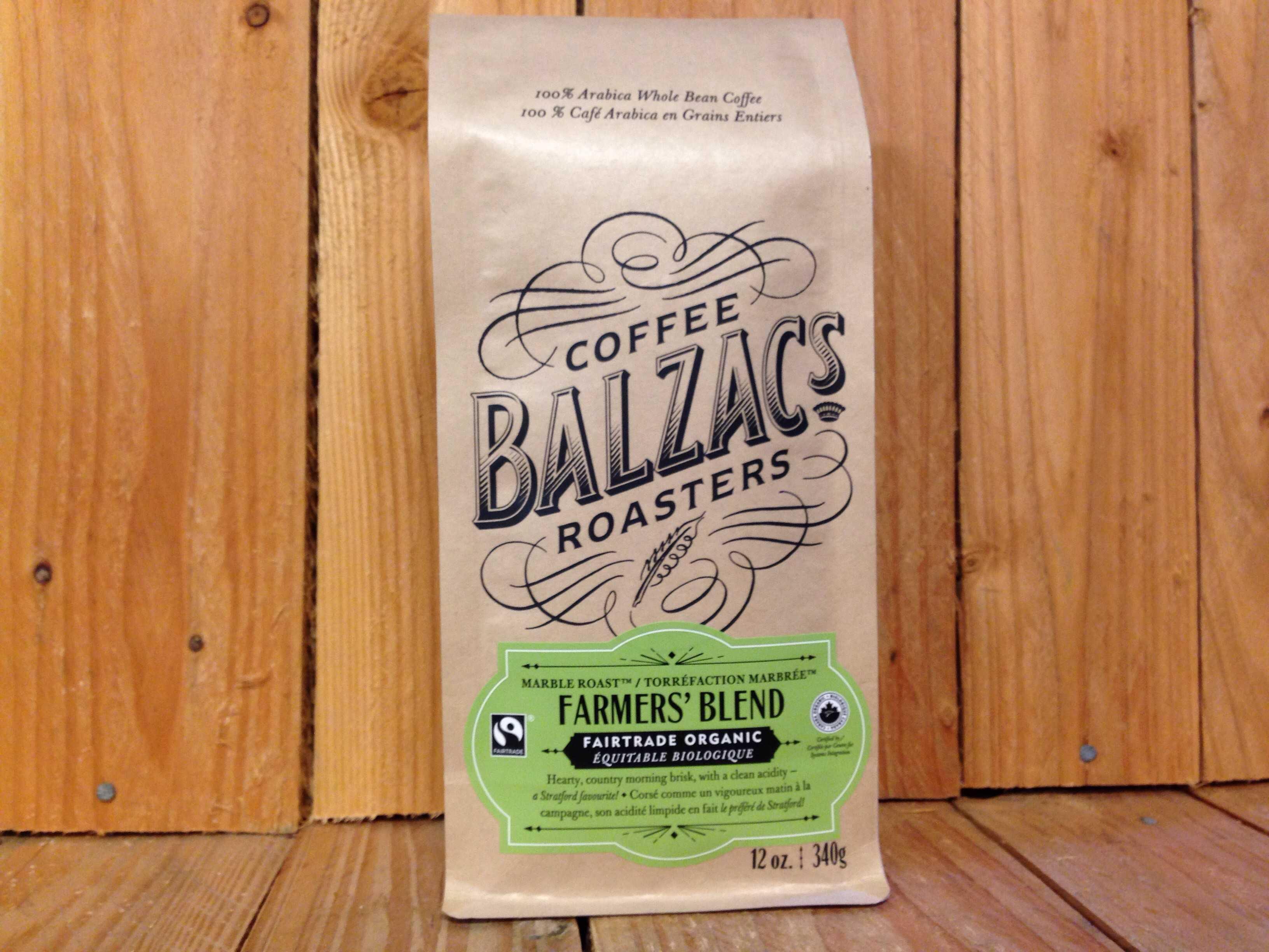 Balzac's Coffee Roasters – Farmer's Blend (340g/Beans)