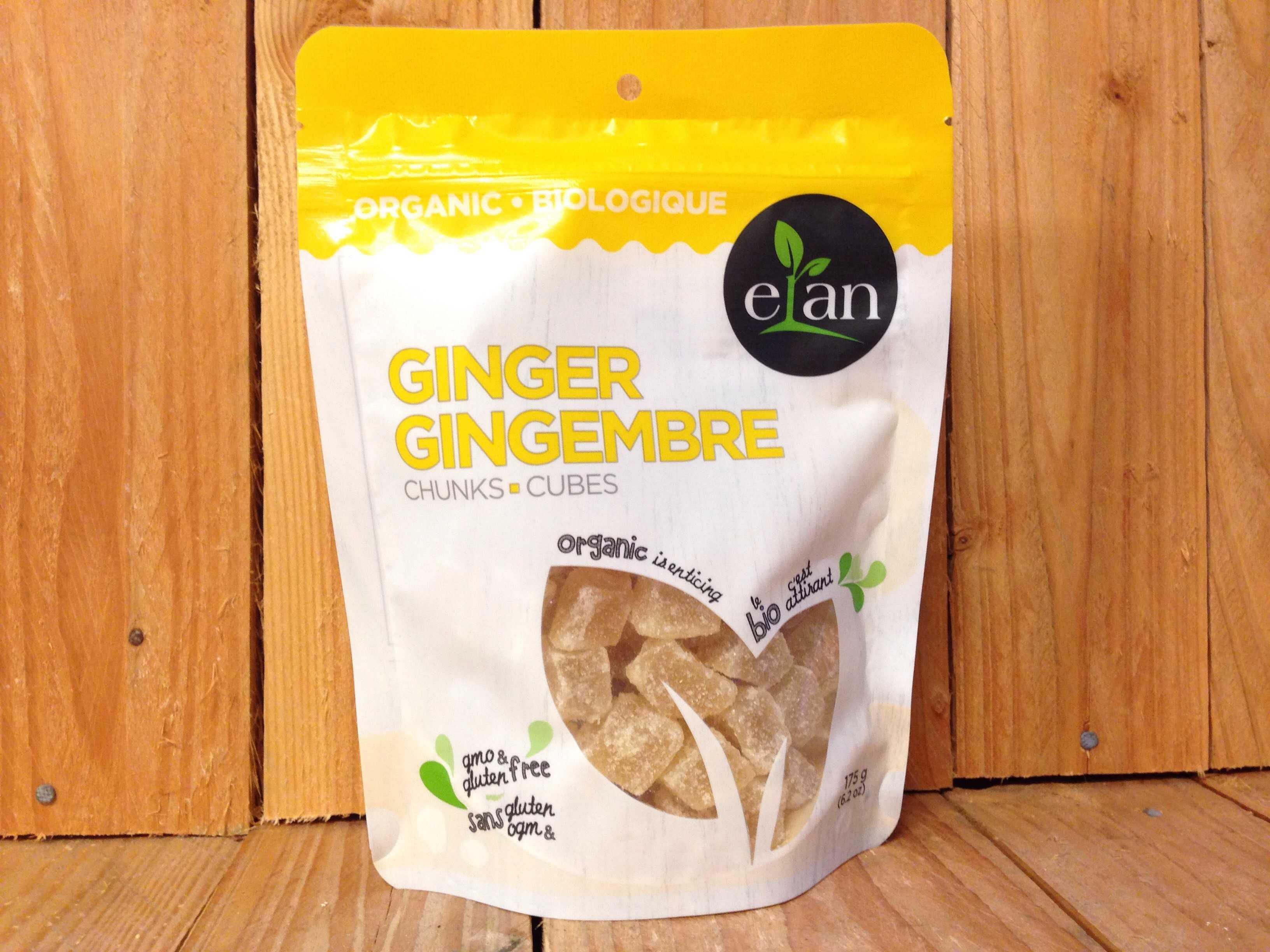 Elan – Organic Ginger Chunks (175g)