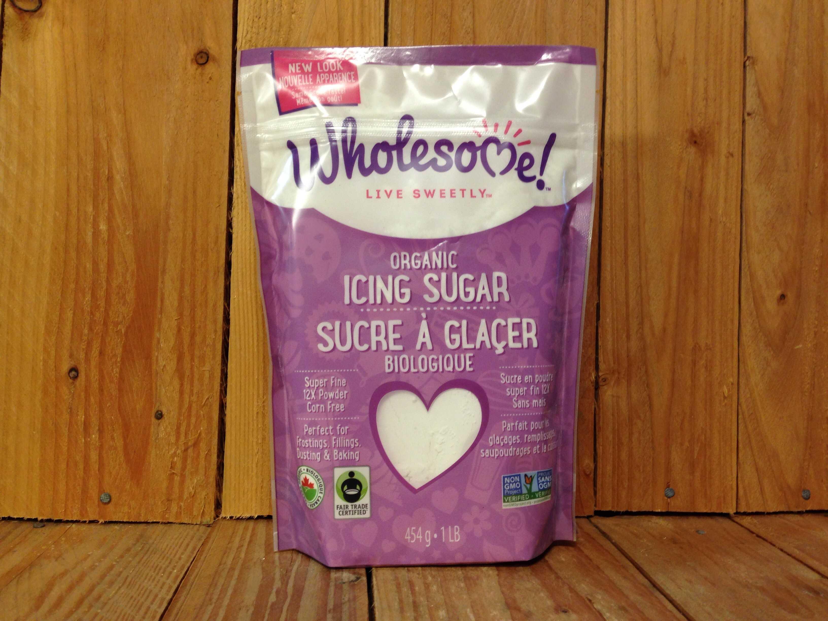 Wholesome – Sugar – Icing Sugar Fair Trade (454g)