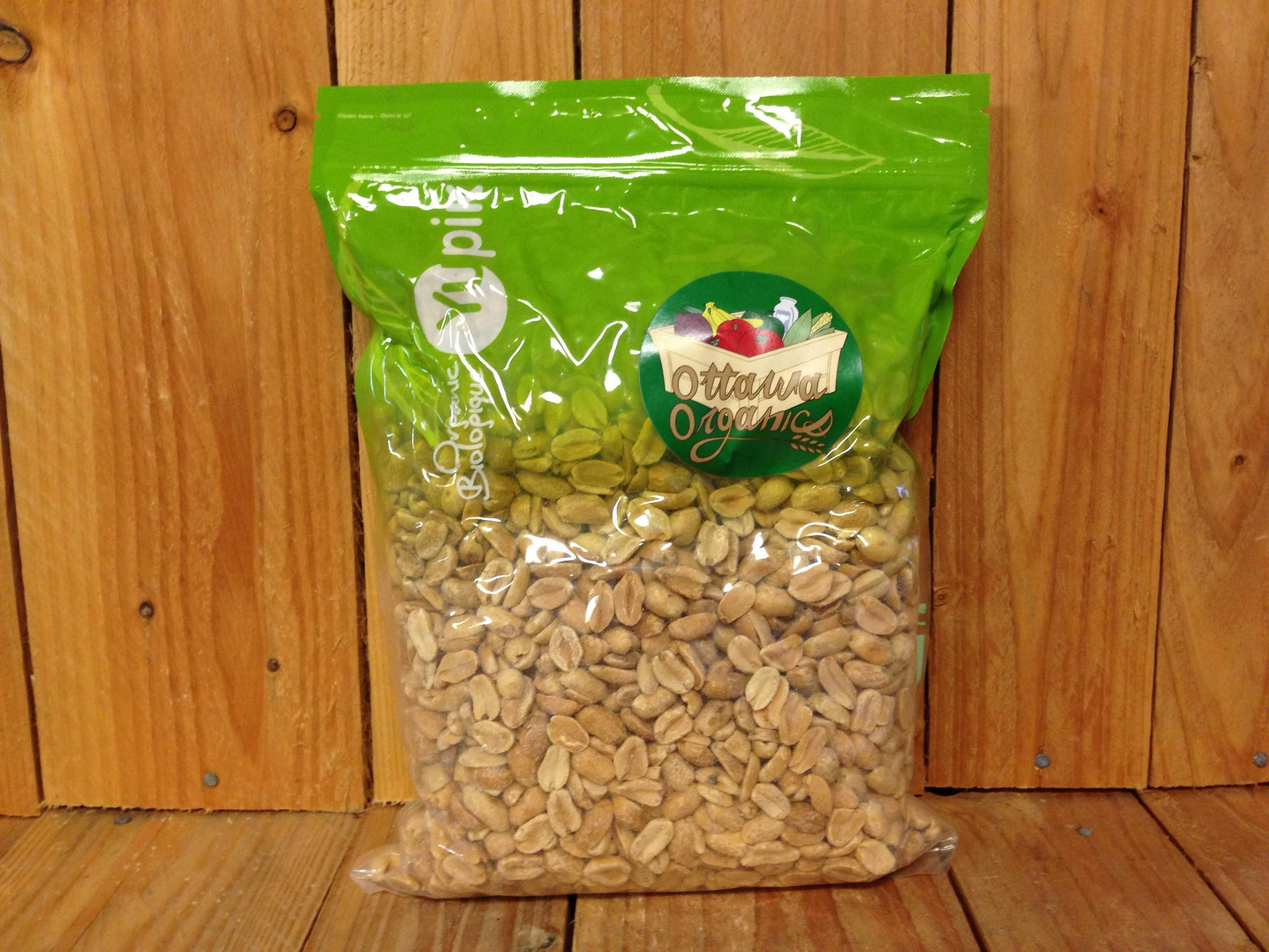Yupik – Organic Dry Split Peanuts (1kg)