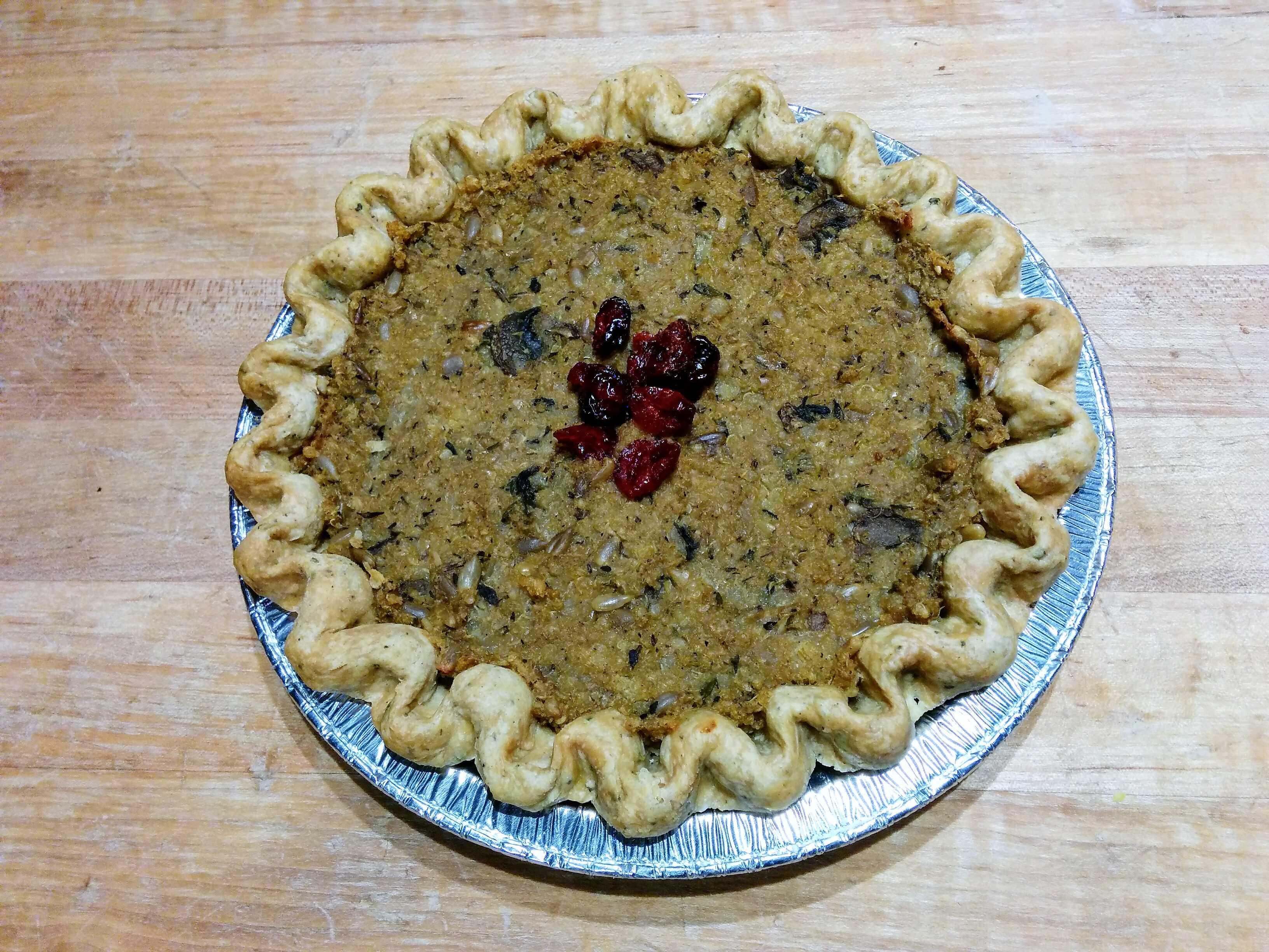 Wild Oat Bakery – Tourtiere, Spelt Crust VEGAN (8″)