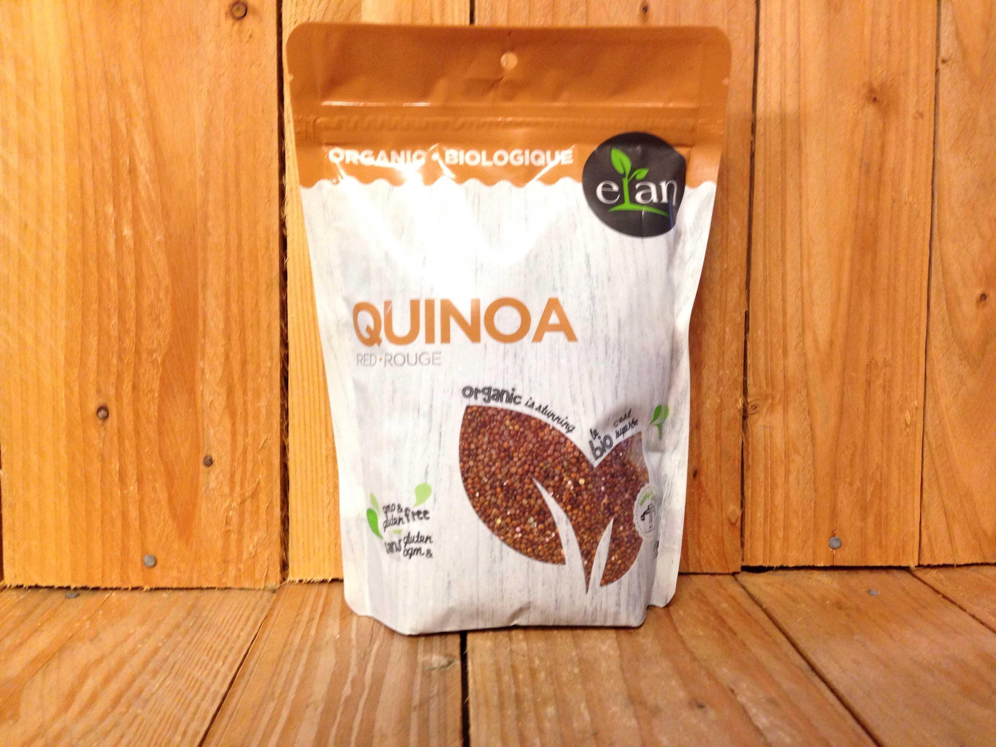 Elan – Organic Quinoa, Red (426g)