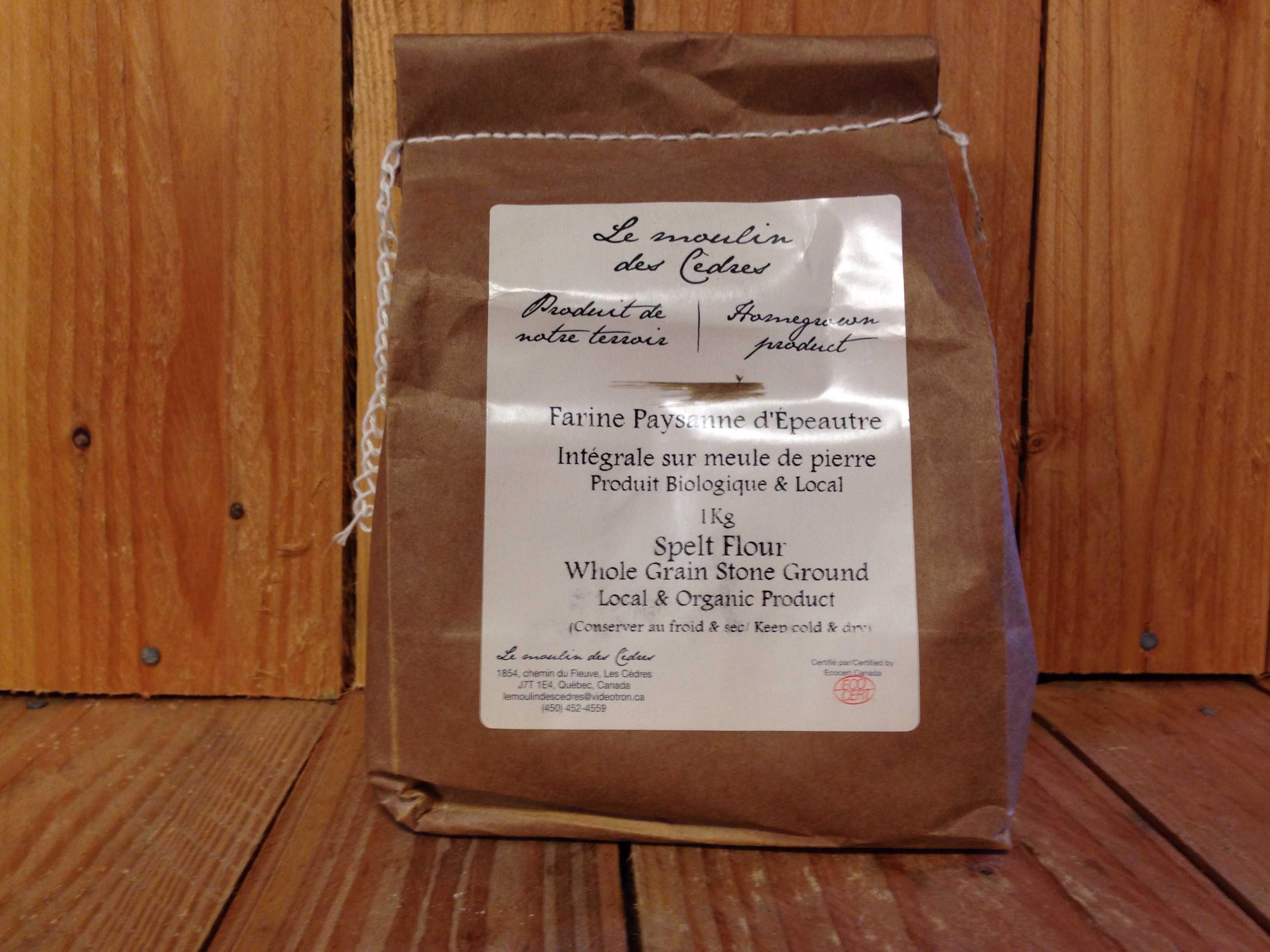 Le Moulin des Cedres – Spelt Flour (1kg)