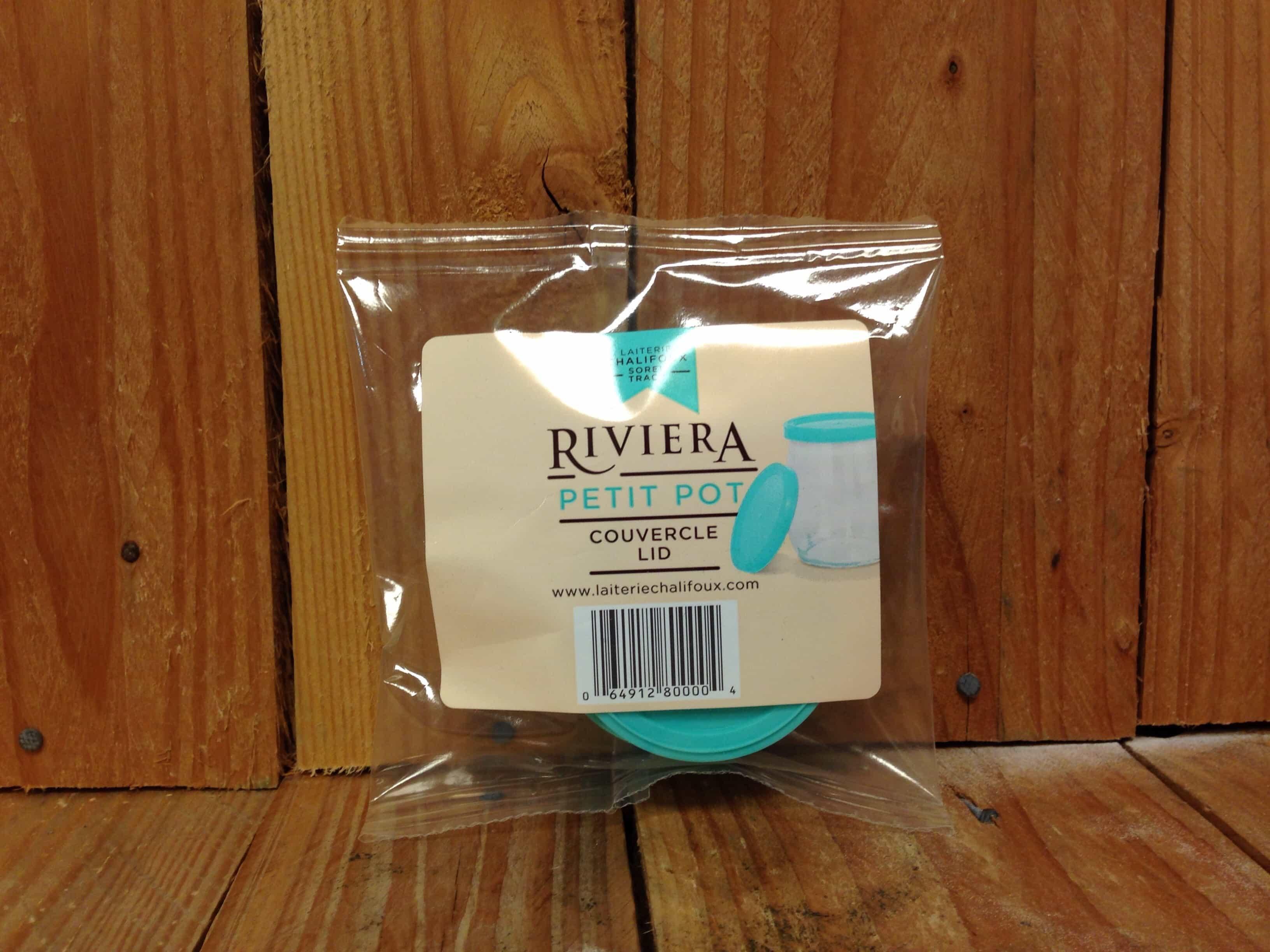 Riviera Yogurt – Petit Pot Resuable Lids (Pack of 4)