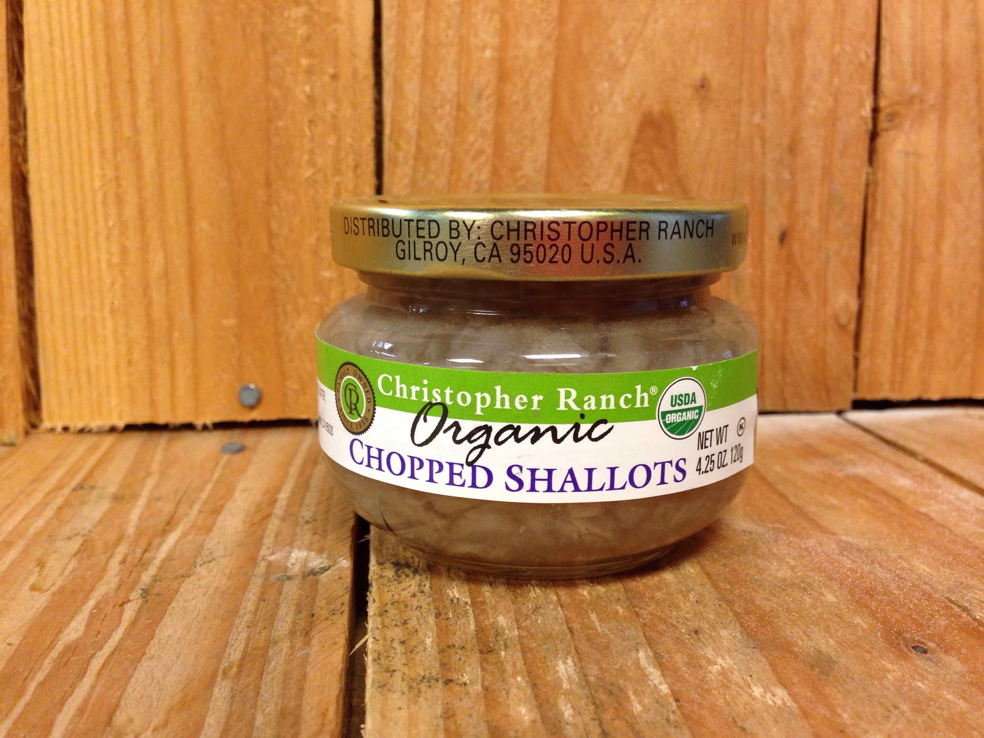 Christopher Ranch – Shallots – Minced CALIFORNIA (120g Jar)