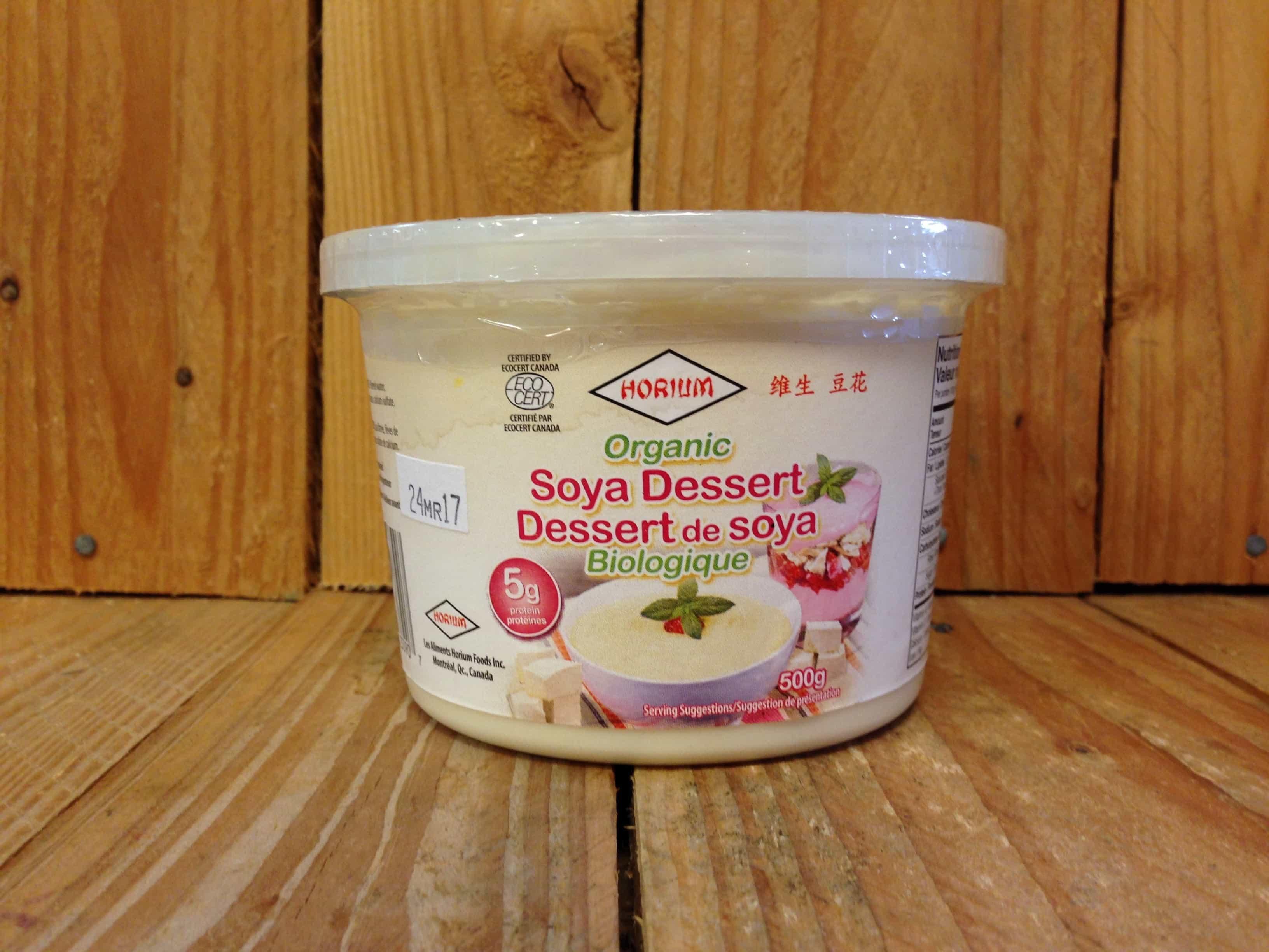 Horium – Organic Soya Dessert (500g)