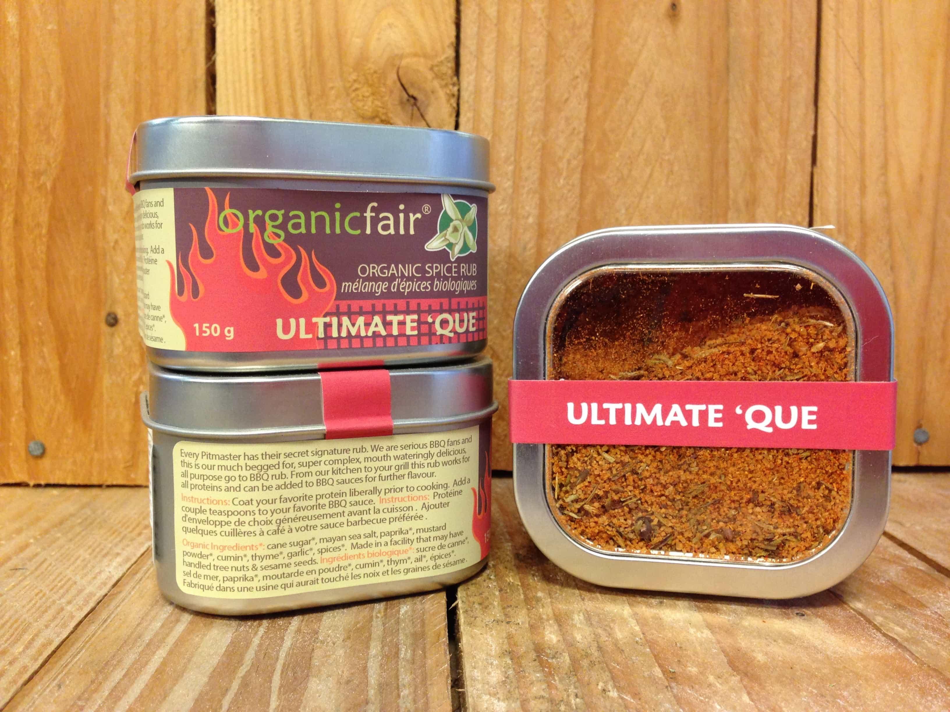 Organic Fair – Ultimate 'Que Spice Rub (150g)