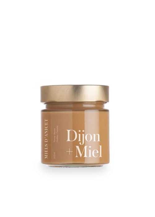 Miels d'Anicet – Mustard – Dijon + Honey (212ml Jar)