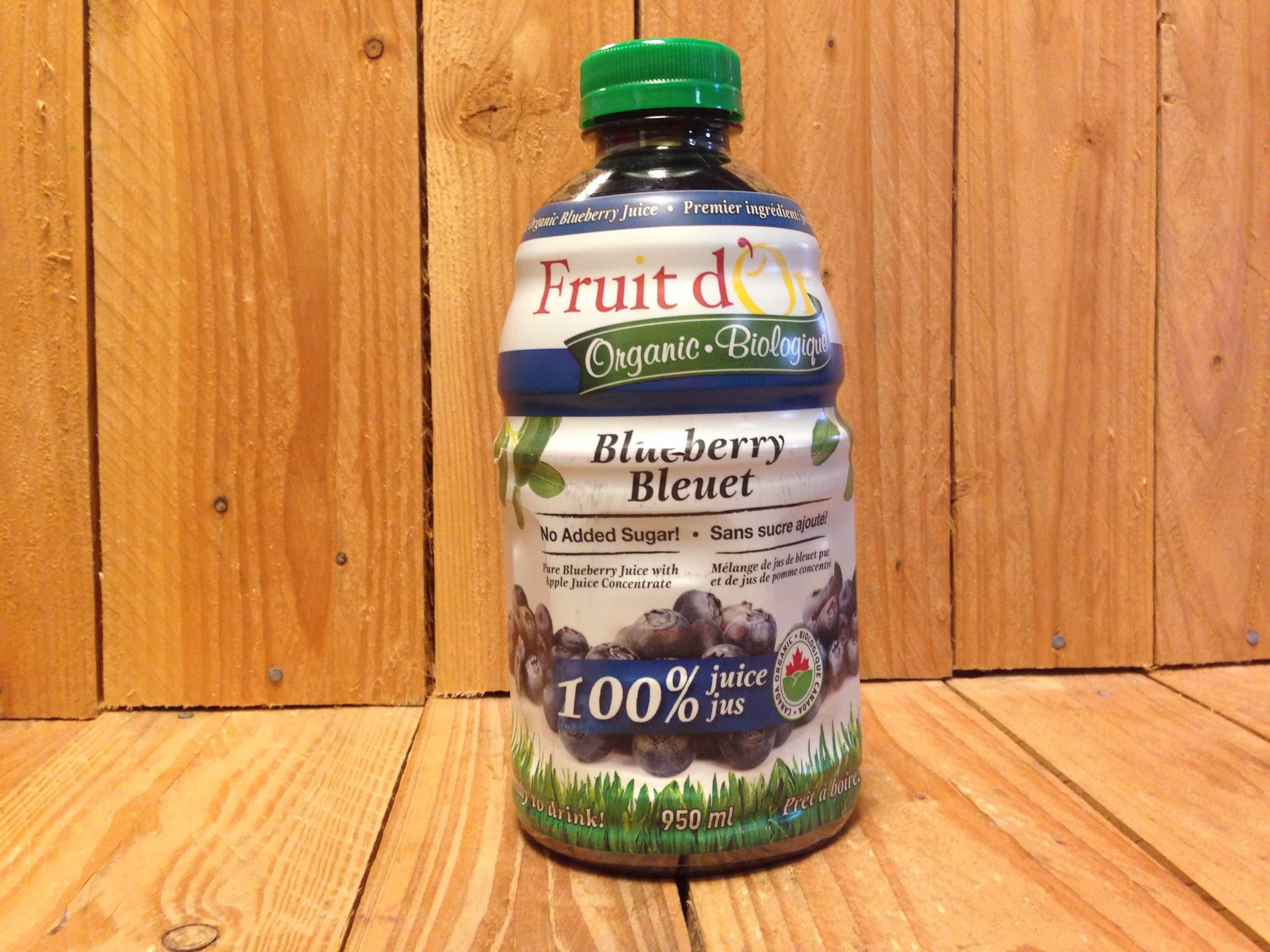 Fruits D'Or –  Blueberry (950ml Bottle)