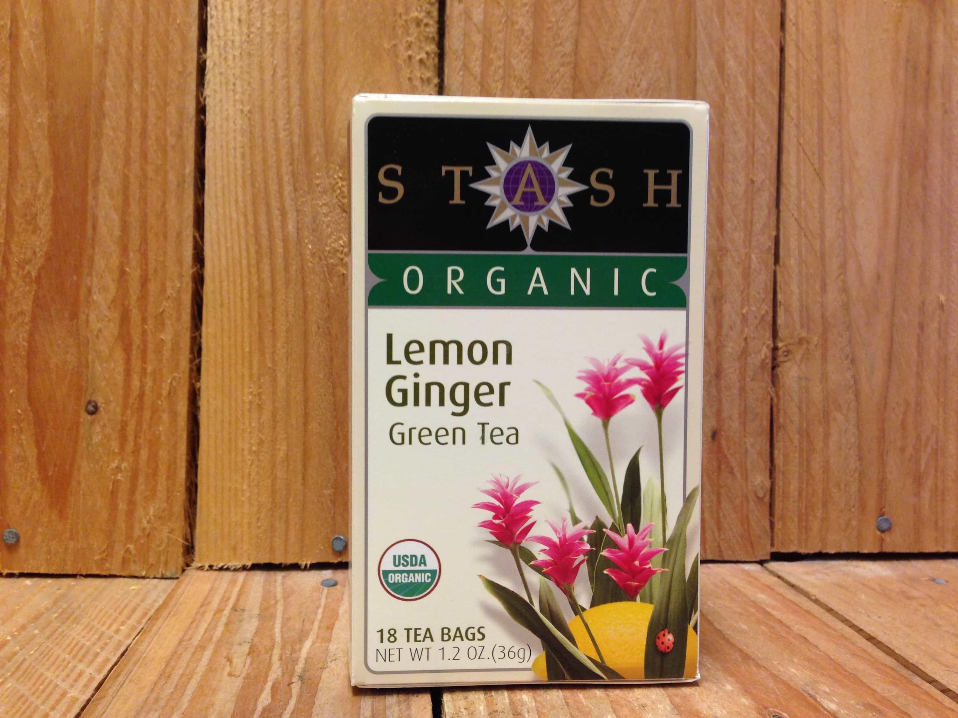 Stash – Organic Lemon Ginger Tea (18 Bags)