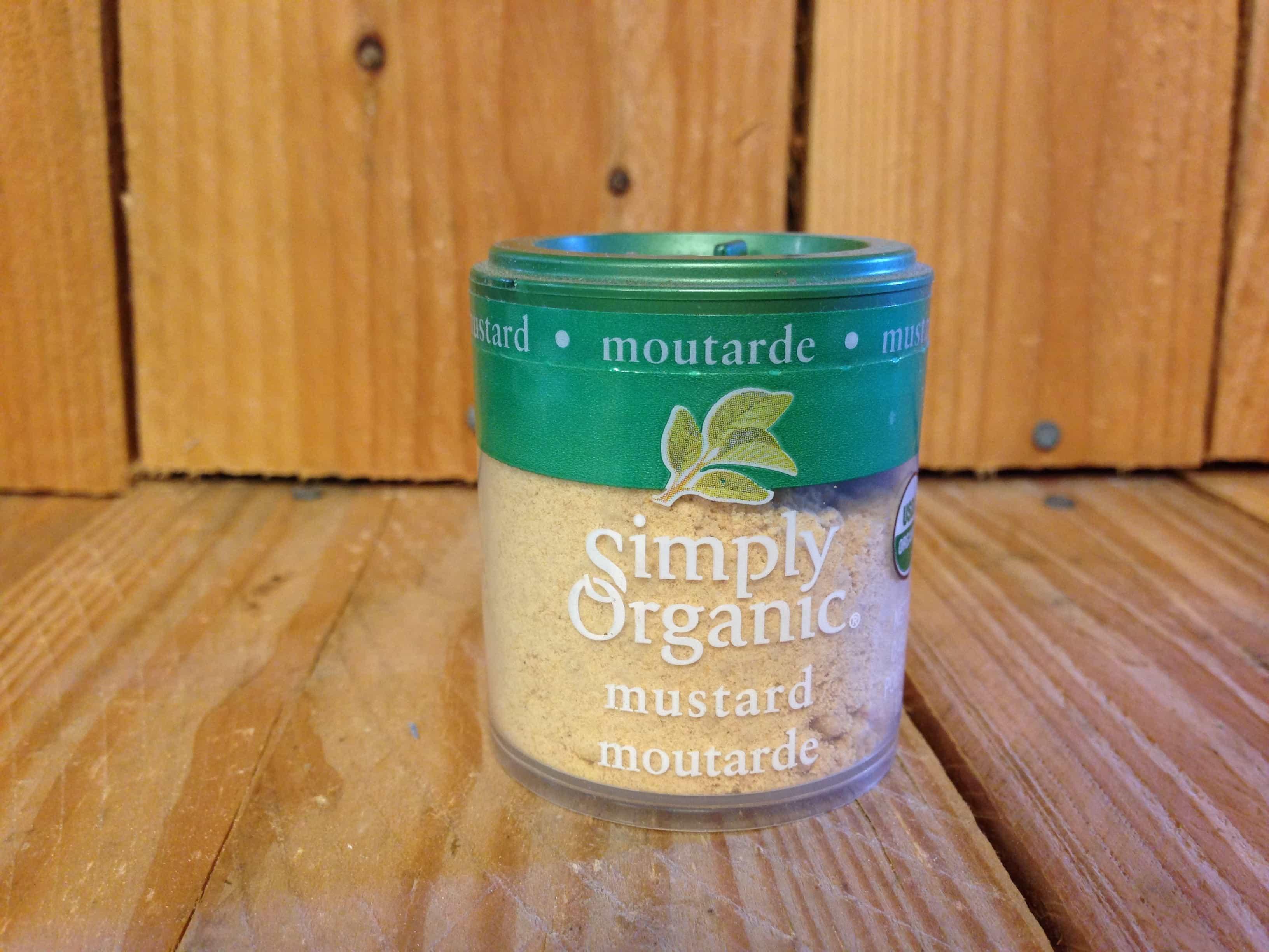 Simply Organic – Mustard (12g)