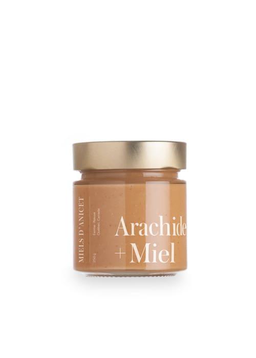 Miels d'Anicet – Peanut Butter + Honey (250g Jar)